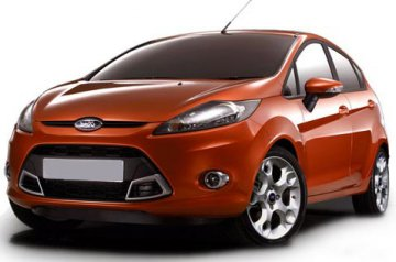 Ford Fiesta car for hire in Paphos Cyprus