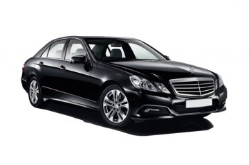 Mercedes E220 car for hire in Paphos Cyprus