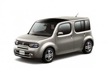 Nissan Cube car for hire in Paphos Cyprus
