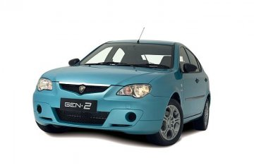 Proton Gen2 car for hire in Paphos Cyprus