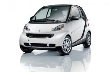 Smart for two car for hire in Paphos Cyprus