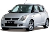 SUZUKI swift car for hire in Paphos Cyprus