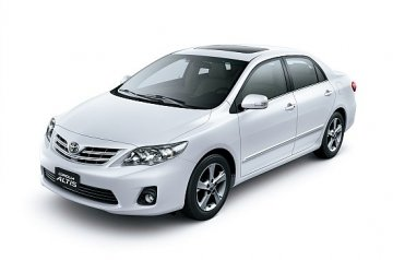Toyota Corolla car for hire in Paphos Cyprus
