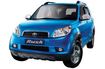 Toyota rush car for hire in Paphos Cyprus