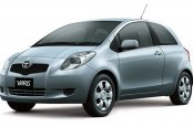 Toyota Yaris car for hire in Paphos Cyprus